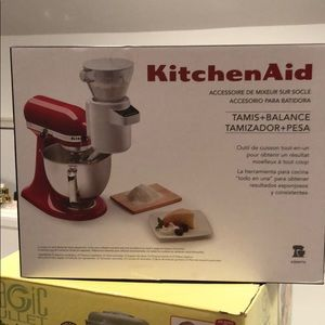 Kitchen Aid Sifter and Scale NWT